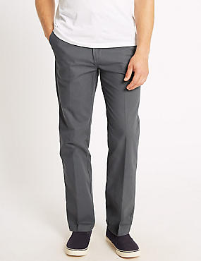 Regular Fit Chinos with Stormwear™, GREY MIX, catlanding