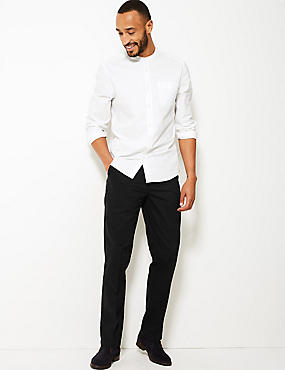 Regular Fit Pure Cotton Chinos