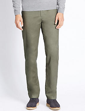 Big & Tall Regular Fit Pure Cotton Chinos