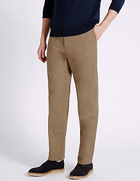 Big & Tall Flat Front Chinos