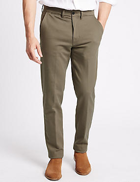 Big & Tall Slim Fit Cotton Rich Chinos
