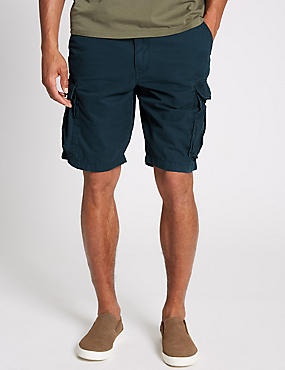 Pure Cotton Authentic Cargo Shorts