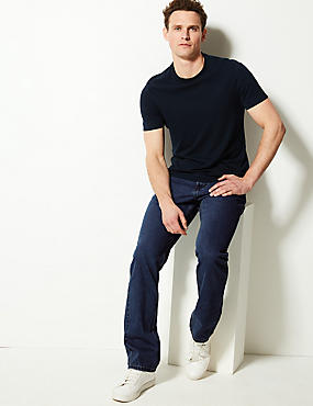 Regular Fit Pure Cotton Jeans