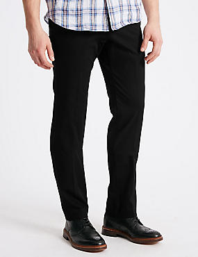 Big & Tall Regular Fit Jeans, BLACK, catlanding