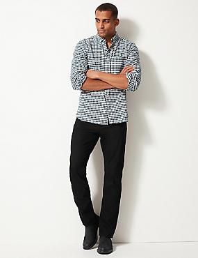 Regular Fit Jeans, BLACK, catlanding
