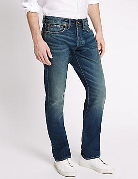 Limited Edition Vintage Wash Selvedge Jeans