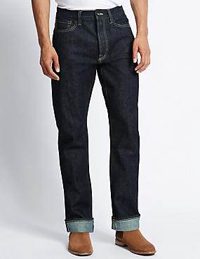 Straight Fit Japanese Selvedge Jeans