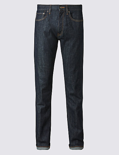 M&S COLLECTION Slim Fit Selvedge Jeans - T176870M