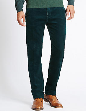 Cotton Rich Corduroy Trousers with Stormwear™