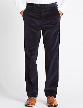 Regular Fit Super Soft Corduroy Trousers