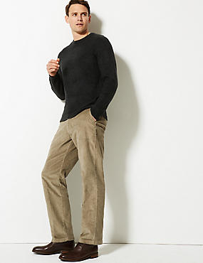 Cotton Rich Corduroy Trousers, MOLE, catlanding