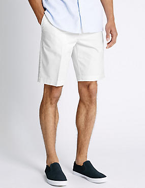 Shorter Length Pure Cotton Storm Chino Short