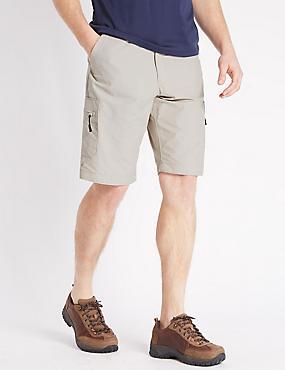Cotton Rich Trekking Shorts, STONE, catlanding