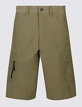 Big & Tall Cotton Rich Trekking Shorts, SAND, catlanding