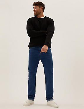 Regular Fit Stretch Water Resistant Jeans