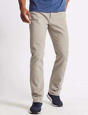 Big & Tall Regular Fit Stretch Jeans with Stormwear™, , catlanding