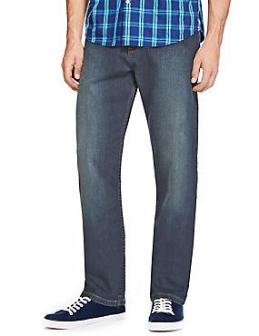 Big & Tall Regular Fit Stretch Jeans with Stormwear™, TINT, catlanding