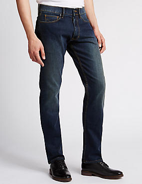 Slim Fit Stretch Water Resistant Jeans