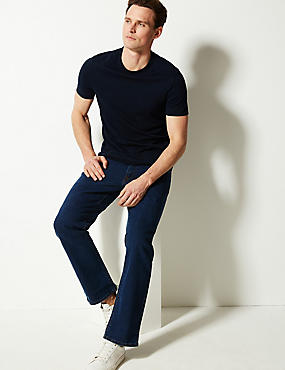 Straight Fit Stretch Water Resistant Jeans