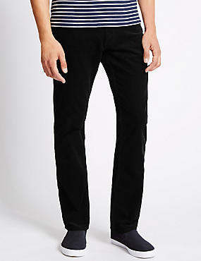 Pure Cotton Jean Style Corduroy Trousers