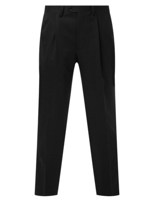 Luxury Fine Wool Trousers Clothing
