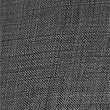 Tailored Fit Pure Wool Textured Trousers, CHARCOAL MIX, swatch