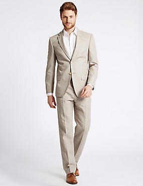 Big & Tall Regular Fit 3 Piece Suit