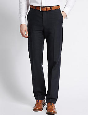 Linen Miracle Tailored Fit Trouser
