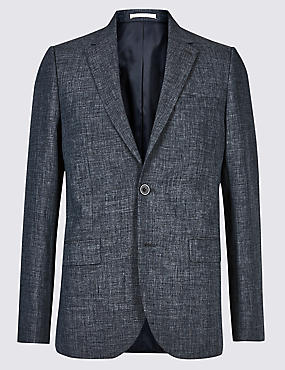 Linen Miracle Regular Fit Jacket