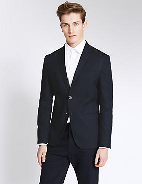 Modern Slim 2 Button Jacket