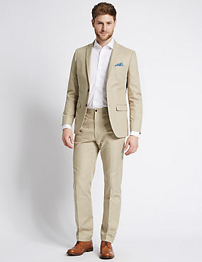 Cream Summer Suits | M&S