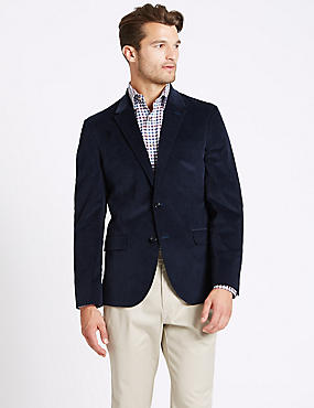Cotton Rich 2 Button Jacket