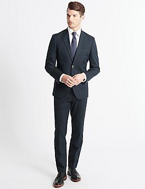 Tailored Fit Jacket, NAVY, catlanding