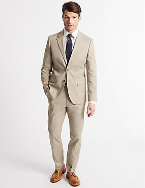 Tailored Fit Jacket, NEUTRAL, catlanding