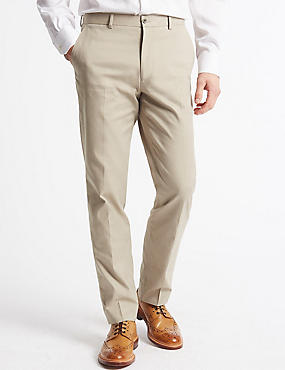 Tailored Fit Trousers, NEUTRAL, catlanding