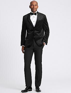Black Regular Fit Jacket, BLACK, catlanding