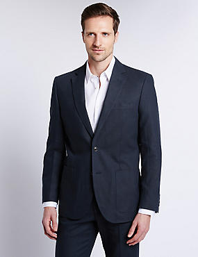Big & Tall Navy Regular Fit Suit