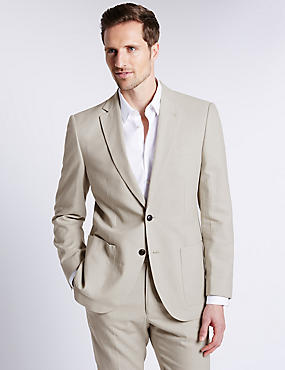 Linen Rich Regular Fit Suit
