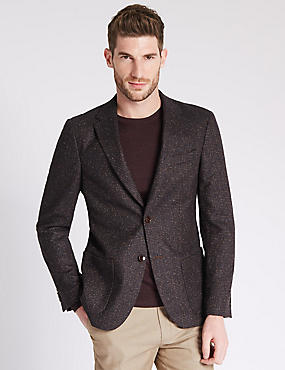 Tailored Fit 2 Button Jacket Jacket