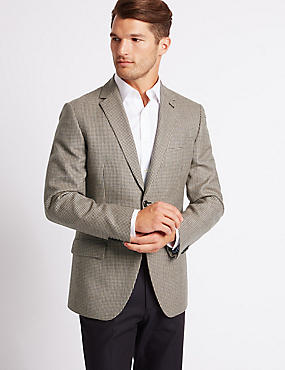 Big & Tall Pure Wool Jacket