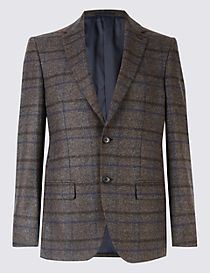 Wool Rich 2 Button Jacket