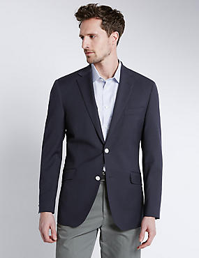 Performance Wool Blend Blazer