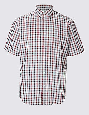 Modal Rich Checked Shirt