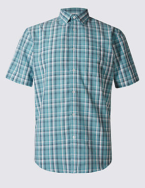 Model Blend Easy Care Shirt with Pocket