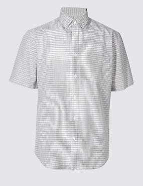 Modal Rich Easy Care Shirt with Pocket