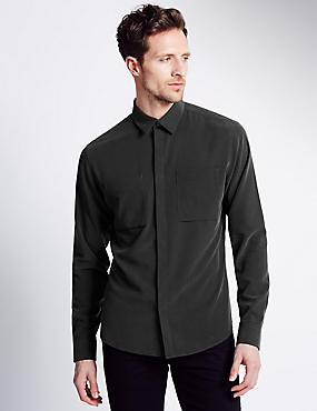 Modal Rich Easy Care Soft Touch Shirt