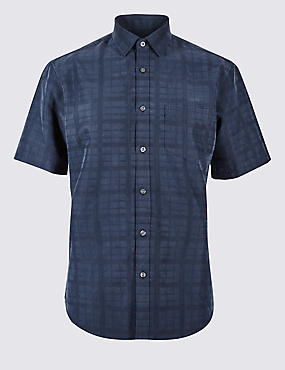 Easy Care Modal Rich Shirt with Pocket