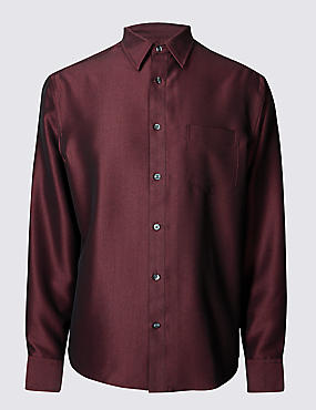 Textured Shirt with Pocket