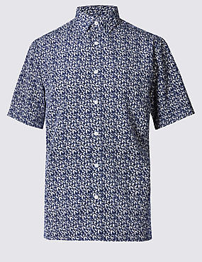 Easy Care Printed Shirt