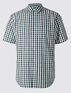 Modal Checked Shirt
